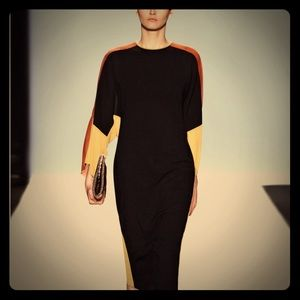Bcbg runway Darya silk dress Med